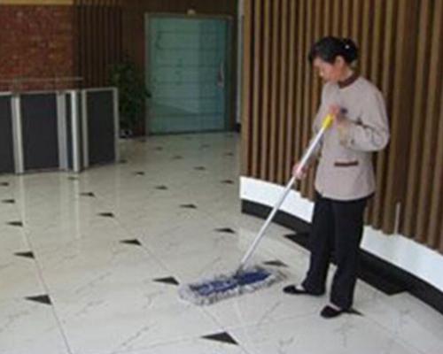 北京国际大厦地面清洗